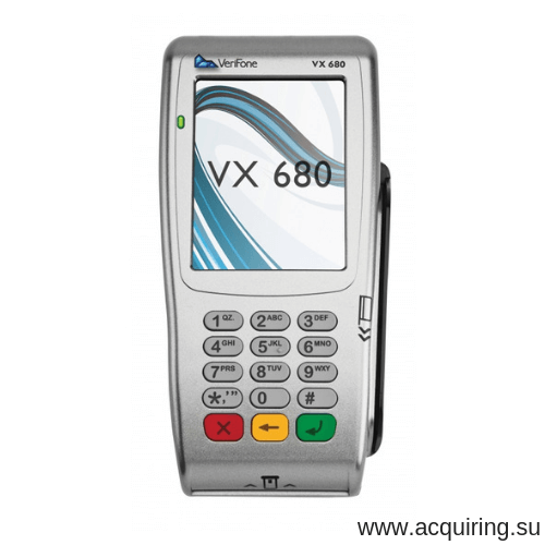 Мобильный POS-терминал Verifone VX680 (Wi-Fi, Bluetooth) под Прими Карту в Волгограде